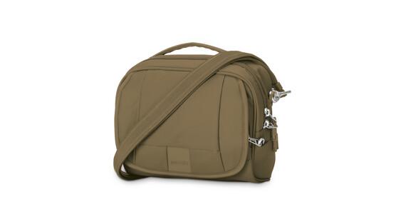 Pacsafe Metrosafe LS140 Compact Shoulder Bag Sandstone